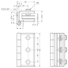 schematic glass door hinges glass