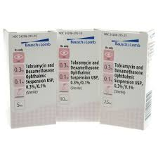 tobramycin and dexamethasone eye drops
