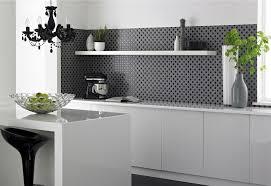 Kitchen Wall Tiles for Black and White Theme