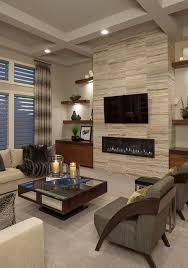 living room ideas with fireplace and tv. 18 Lovely Living Room Designs With Wall Mounted TV Ideas Fireplace And Tv L