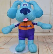 mailbox blues clues plush. BLUES CLUES Stuffed Plush BATH TIME BLUE Dog Pool Water Toy Nylon Tub Fun 2005 Mailbox Blues Clues