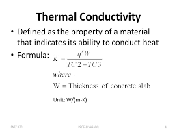 thermal conductivity equation jennarocca