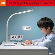 Xiaomi Mijia Đèn Bàn Học Philips 3 Đèn LED 3700K Wifi Cảm Ứng Thông Minh Mờ  Để Bàn Hoạt Động Với Mijia Ứng Dụng Điện Thoại điều Khiển Từ Xa Đèn Bàn