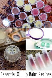 a luscious collection of natural diy essential oil lip balm recipes ideal for treating dry