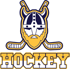 Hockey with a viking Logo Vector (.EPS) Free Download