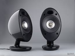 kef egg speakers. code : kef egg/blk kef egg speakers
