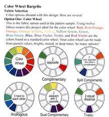 Bargello Color Wheel Yardage Chart Color Wheel Chart
