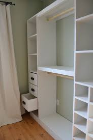 Bedroom Closet Cabinets Set Plans