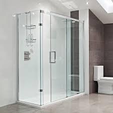 Roman Showers Decem Sliding Door Shower Enclosure Featuring a smooth,  ultra-smooth running door action, the minimalistic Roman Showers Decem  Sliding Door ...