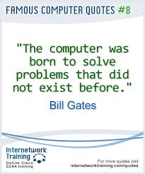 Quotation On Computer