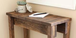 diy sofa table. Modren Table Intended Diy Sofa Table