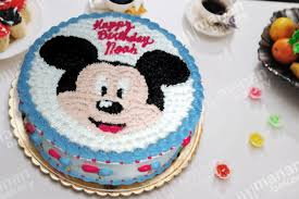 Kids Cake Happy Mickey Mouse Kids Cakes Event Cakes