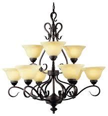landmark lighting 257 buckingham 9 light chandelier mediterranean chandeliers