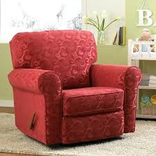 swivel rocker recliners fabric moon chair power recliner glider by modern family room