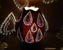 Authentic decorative unique handmade Turkish gourd lamp, table lamp,  bedside lamp, bedroom night