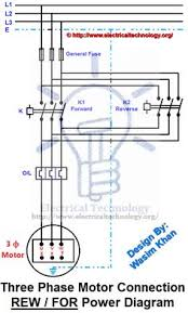 three phase electrical wiring installation at home phase rev for three phase motor connection power and control diagrams three phase motor connection reverse and forward power and control wiring diagrams