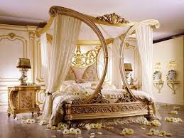 Gold Canopy Bed — Ccrcroselawn Design