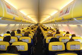 Business Flight Ryanair B737 800 Cabin Seat Layout