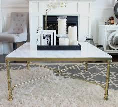 fascinating square marble coffee table of tables excellent white modern faux with