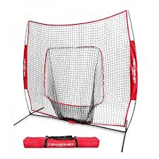 An error occurred. PowerNet Baseball Net 7x7 (RED) - $69.99 Training Nets
