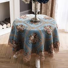 round table tablecloth european table cloth fabric home round tablecloth small round tablecloth living room coffee