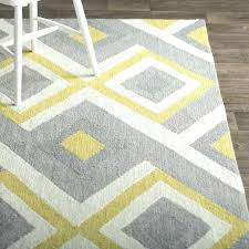 yellow and white area rug inside rugs from bed bath beyond inspirations 6 grey 5 x 7 th