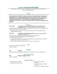 Sample Resume Rn Nursing Resume Objectives Examples Er Nurse Resume