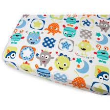 sumersault monster babies 9 piece crib bedding set with bonus per com