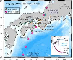 Stone Harbor Tide Chart Field Surveys And Numerical Simulation Of The 2018 Typhoon