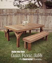 picnic table ideas decor diy