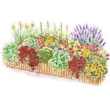 flower garden plans. Free Garden Plan Flower Plans L