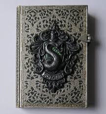 slytherin journal polymer clay journal notebook harry potter 240 lined pages