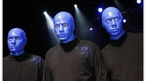 blue man group makeup