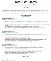 Resume Skills for Bank Teller Bank Teller Resume Sample Resumelift