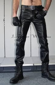 herren lederjeans 501 leather jeans pants 501 herren lederhose 501