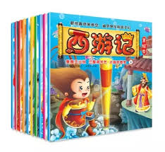 10pcs set journey to the west for kids children learning hanzi with pin yin