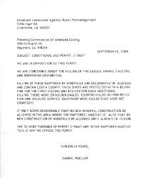 a l a r m home page letter to alameda co planning about 29 eagles kiled 8 89