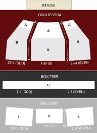Eisenhower Seating Chart Eisenhower Theater Washington Dc Seating Chart Stage