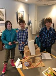 Field Trips! On March 12th our K/1 class visited the Planetarium at the  Museum of Science and our 2/3 and 4/5 classes visited the Boston Society of  Architects. — Birches School