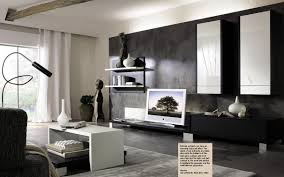 Interior For Living Room Living Room Contemporary Elegant Black And White Interior Living