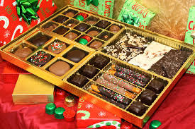 we have some great holiday gift packages and themed bo to give to all your loved ones this holiday give locally made gourmet chocolates