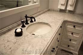 stunning bathroom done in white carrara marble