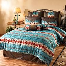 4140768201ig turquoise cimarron bedding collection