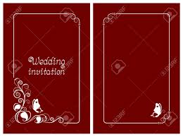 Red Wedding Card Design Red Wedding Invitation Rsvp Invite Thank You And Save The Date