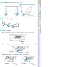 sony tv lamp replacement instructions. wega sony tv lamp ~ instalampsus. replacement instructions e