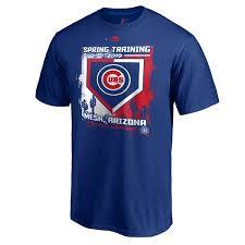 Spring Tall Balls Training Majestic Cactus Cubs Men's T-shirt Base Chicago On League Royal amp; Big 2019
