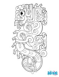 Jaguar Serpent Coloring Pages Hellokidscom
