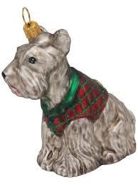 Scottish Terrier Hund Christbaumschmuck
