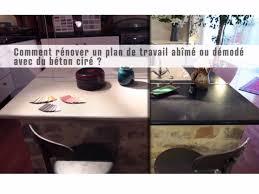 Vidéo Dapplication De Béton Ciré Sur Un Plan De Travail Stratifié