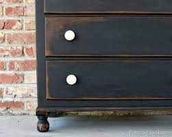 distressed furniture painting